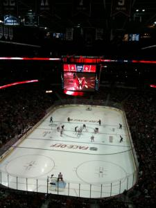 Caps - Red Wings game at Verizon Center - 10/22/11 - Section 409