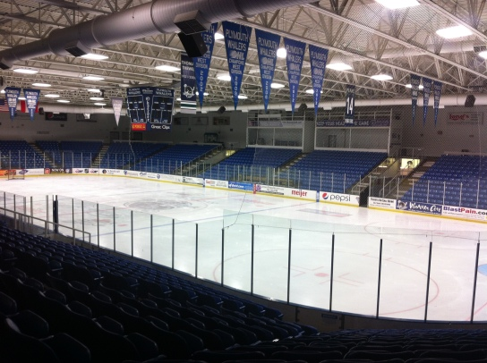 Home of the OHL Plymouth Whalers